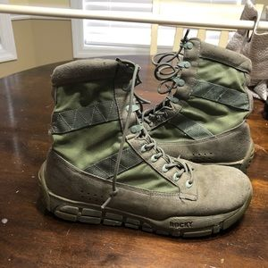 Sage Green Rock C4T Military Boots